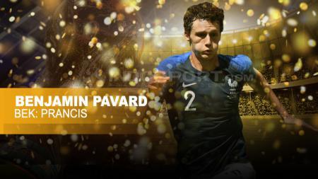 Bek Timnas Prancis, Benjamin Pavard. - INDOSPORT