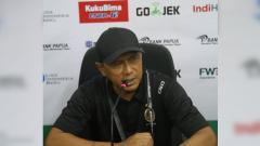 Indosport - Pelatih Sriwijaya FC, Rahmad Darmawan.