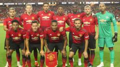 Indosport - Skuat Manchester United.