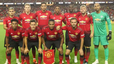 Skuat Manchester United. - INDOSPORT