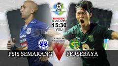 Indosport - PSIS Semarang vs Persebaya Surabaya.