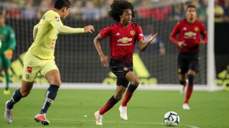 Pemain muda Manchester United, Tahith Chong. - INDOSPORT