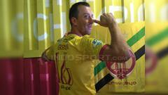 Indosport - Goran Gancev resmi gabung dengan Sriwijaya FC.