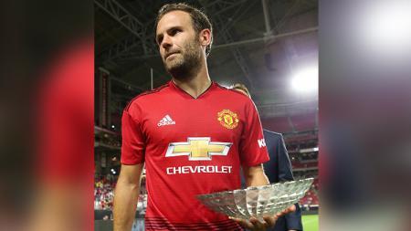 Juan Mata menjadi man of the match pada laga pramusim ICC 2018 di laga Man United vs Club America. - INDOSPORT