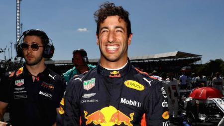 Daniel Ricciardo pembalap F1 yang pindah dari tim Redbull ke Renault. - INDOSPORT
