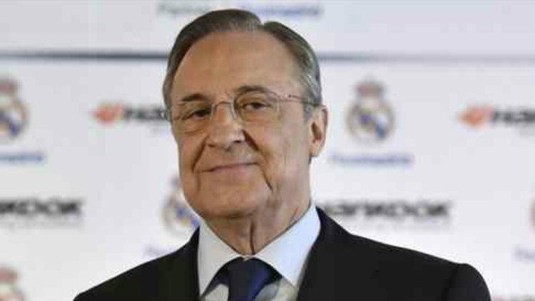 Florentino Perez Presiden Real Madrid Copyright: Don Balon