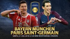 Indosport - Bayern Munchen vs Paris Saint-Germain.