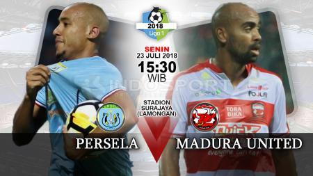 Persela Lamongan vs Madura United. - INDOSPORT