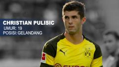 Indosport - Liverpool vs Borussia Dortmund Christian Pulisic.