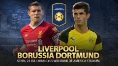 Indosport - Liverpool vs Borussia Dortmund.