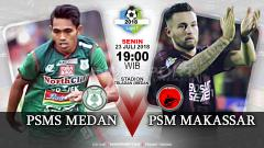 Indosport - PSMS Medan vs PSM Makassar (Prediksi).