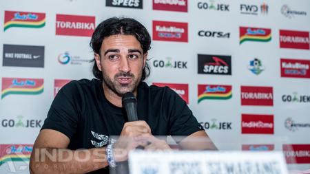 Vicenzo Alberto, pelatih PSIS Semarang - INDOSPORT