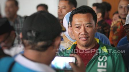 Menteri Pemuda dan Olahraga (Menpora), Imam Nahrawi menyatakan turut berduka atas meninggalnya atlet paralayang Indonesia yang menjadi korban gempa dan tsunami. - INDOSPORT