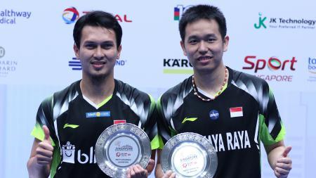 3 Rekor Pebulutangkis Indonesia yang Sulit Dipecahkan di Singapore Open. - INDOSPORT