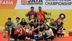 Indosport - Indonesia kembali berlaga di ajang Badminton Asia Junior Championships untuk tahun 2019 ini di China.
