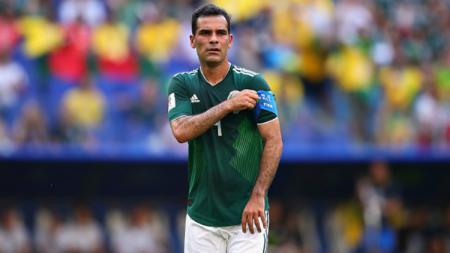 Rafael Marquez, kapten Timnas Meksiko. - INDOSPORT
