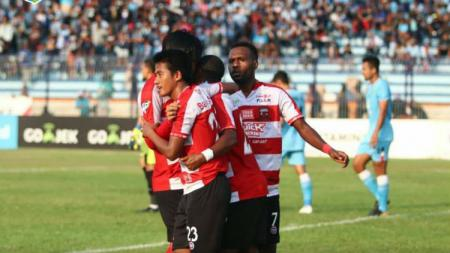 Skuat Madura United. - INDOSPORT