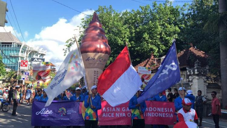 Aice Obor Raksasa Hadir di Bali Copyright: Aice