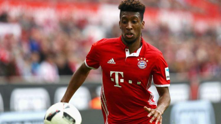 Pemain Bayern Munchen, Kingsley Coman. Copyright: Sky Sport