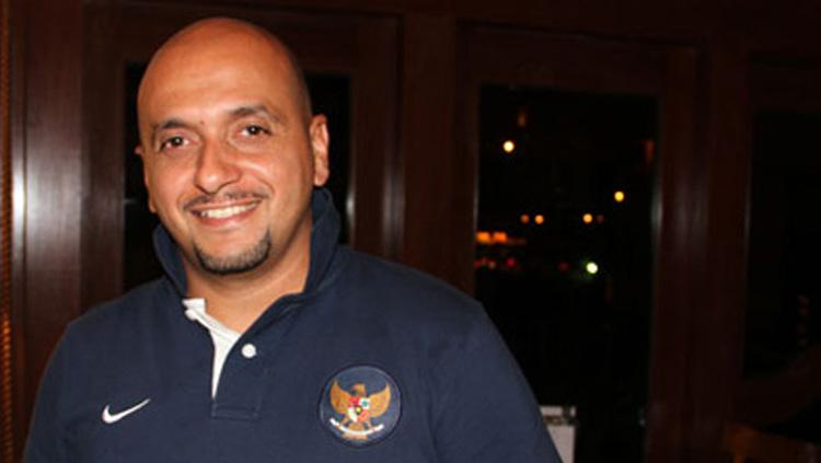 Mantan asisten pelatih tim nasional, Fabio Oliveira. Copyright: Eggi Paksha