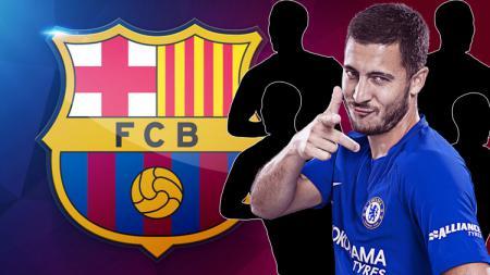 Eden Hazard salah pemain akan bersinar jika gabung Barcelona. - INDOSPORT
