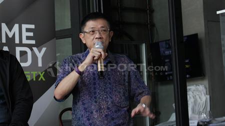 Ketum IESPA, Eddy Lim mengomentari medali perak yang diraih Timnas Mobile Legends Indonesia di ajang SEA Games 2019. - INDOSPORT