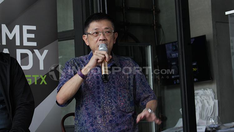 Eddy Lim (Ketua IeSPA). Copyright: Dimas Ramadhan/INDOSPORT