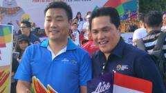 Indosport - Erick Thohir (kanan).