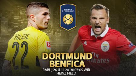 Borussia Dortmund vs Benfica. - INDOSPORT
