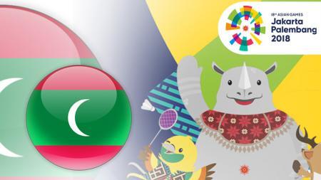 Maladewa di Asian Games 2018 - INDOSPORT