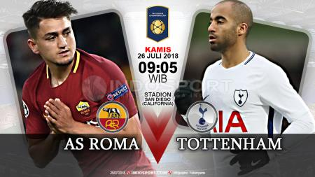 AS Roma vs Tottenham Hotspur - INDOSPORT
