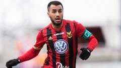 Indosport - Brwa Nouri, mantan pemain sepak bola Ostersunds FK yang kini memperkuat Bali United.