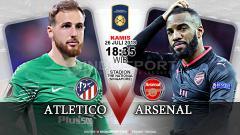 Indosport - Atletico Madrid vs Arsenal (Prediksi)