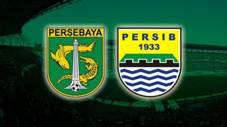 Ilustrasi Persebaya Surabaya vs Persib Bandung. - INDOSPORT