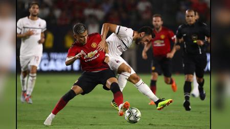 Milan vs Man United di International Champions Cup 2018. - INDOSPORT