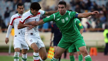 Ahmet Atayew gelandnag Timnas Turkmenistan - INDOSPORT