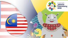 Indosport - Profil Malaysia di Asian Games 2018.