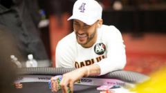 Indosport - Neymar bertarung Poker di Sao Paulo, Brasil