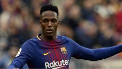 Indosport - Yerry Mina bek Barcelona