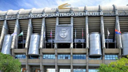 Santiago Bernabeu markas besar Real Madrid. - INDOSPORT