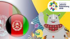 Indosport - Afghanistan Asian Games 2018
