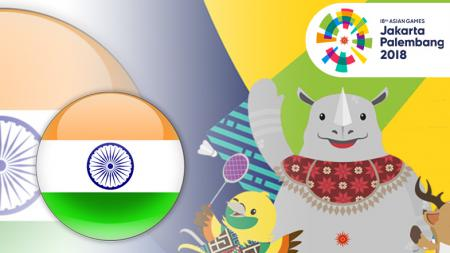 Profil India di Asian Games 2018. - INDOSPORT