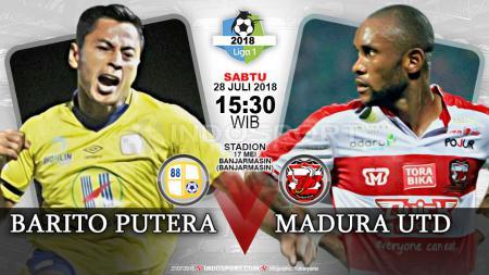 Barito Putera vs Madura United (Prediksi) - INDOSPORT