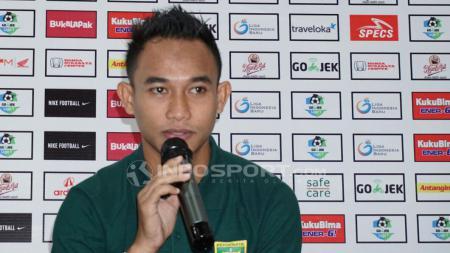 Abu Rizal Maulana mengaku akan ikut manajemen Persebaya soal kelanjutan Liga 1 2020 di tengah pandemi. - INDOSPORT