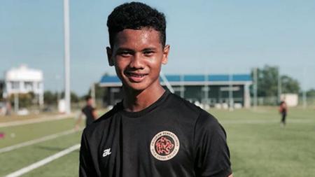 Pemain Malaysia U-16 Amirul Ashrafiq Hanifah - INDOSPORT