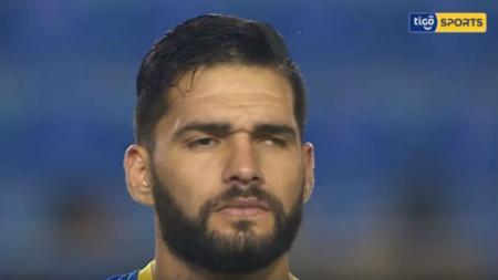 Pemain Cristobal Colon yang mengalami buta sebelah, Mario Ricardo. - INDOSPORT
