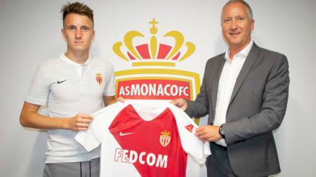 Penggawa Timnas Rusia, Aleksandr Golovin resmi gabung AS Monaco. - INDOSPORT