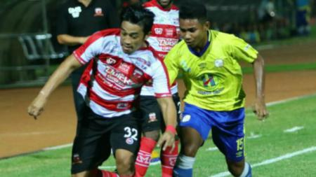 Barito Putera vs Madura United. - INDOSPORT