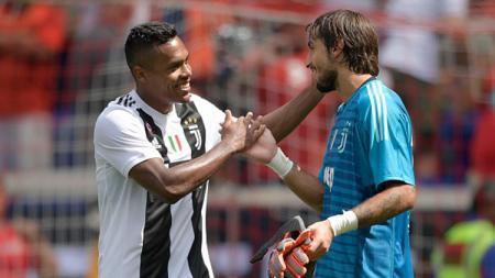 Mattia Perin saat membela Juventus di laga International Champions Cup kontra Benfica. - INDOSPORT