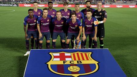 Skuat Barcelona untuk melawan Tottenham Hotspur - INDOSPORT